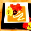 Thumbnail image for Chef Brenda's Roasted Butternut Squash Soup with Nasturtiums