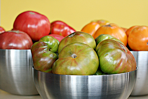 Post image for Recipe for Classic Heirloom Tomato Sauce