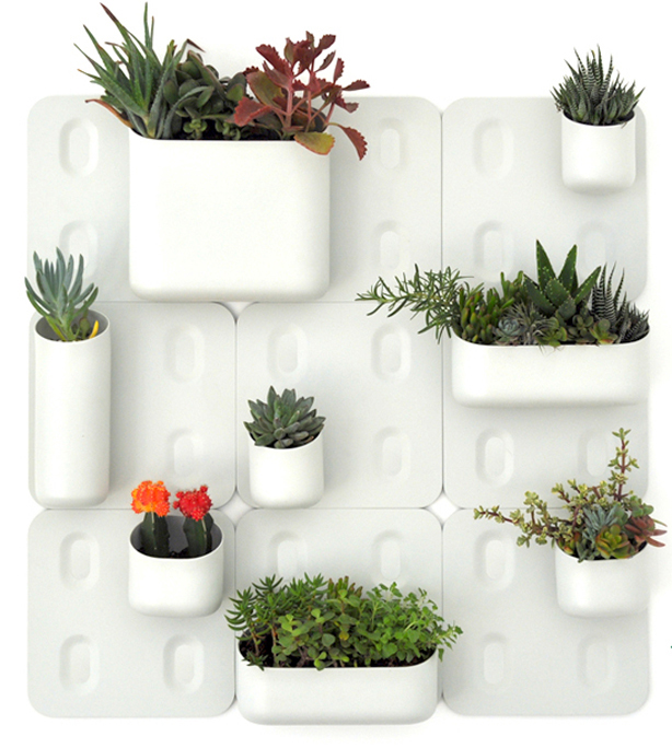 Indoor Vertical Garden Kit : vertical garden systems by Urbio