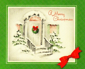Post image for Vintage Christmas Cards of 20th Century