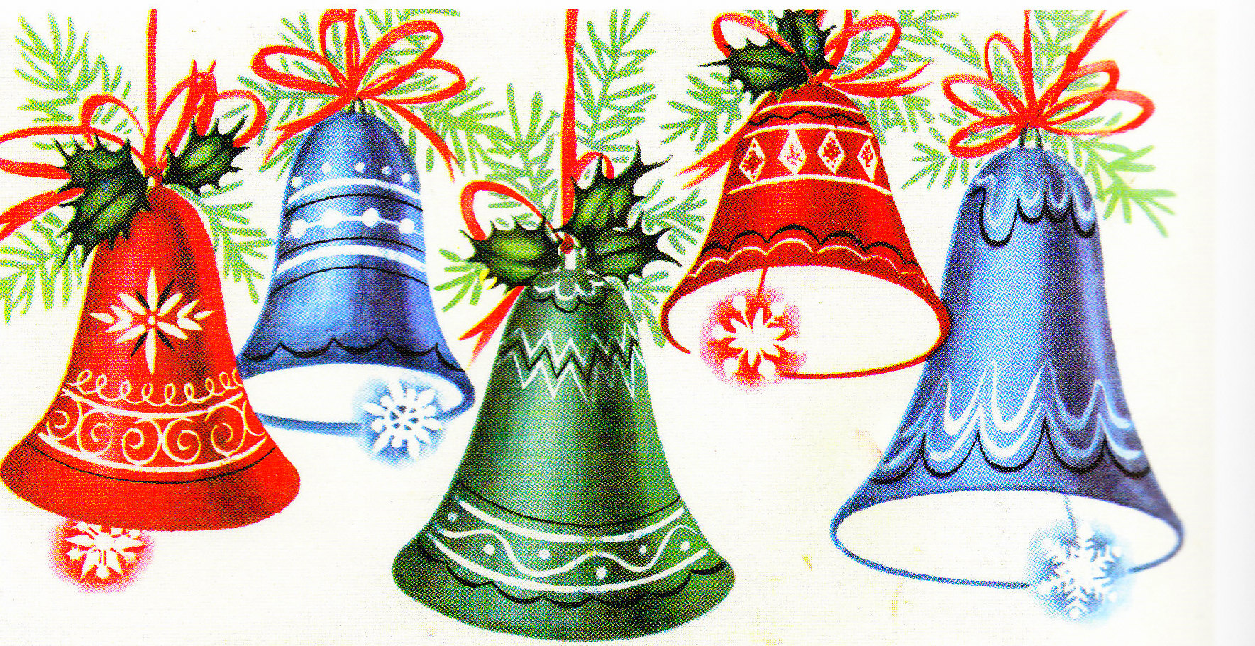 Vintage Christmas Cards of 20th Century