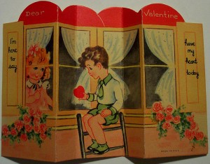 old valentines from earlier times