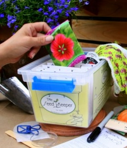 Organize seeds easily