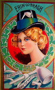 old greeting cards for st. patricks day
