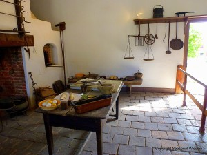 18th century restored kitchen