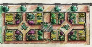 edible garden design