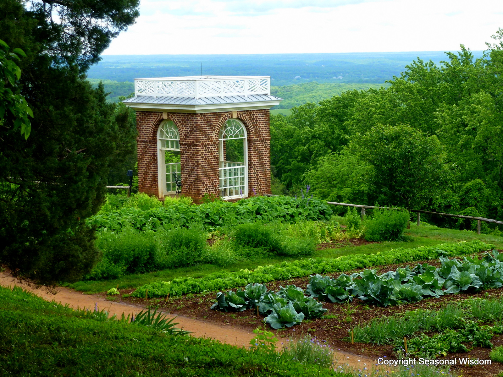 English Kitchen Garden Interview With Peter Hatch About Monticellos Historic Gardens