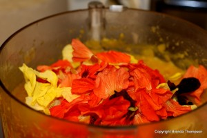 edible flower soup