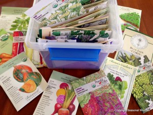 seed storing