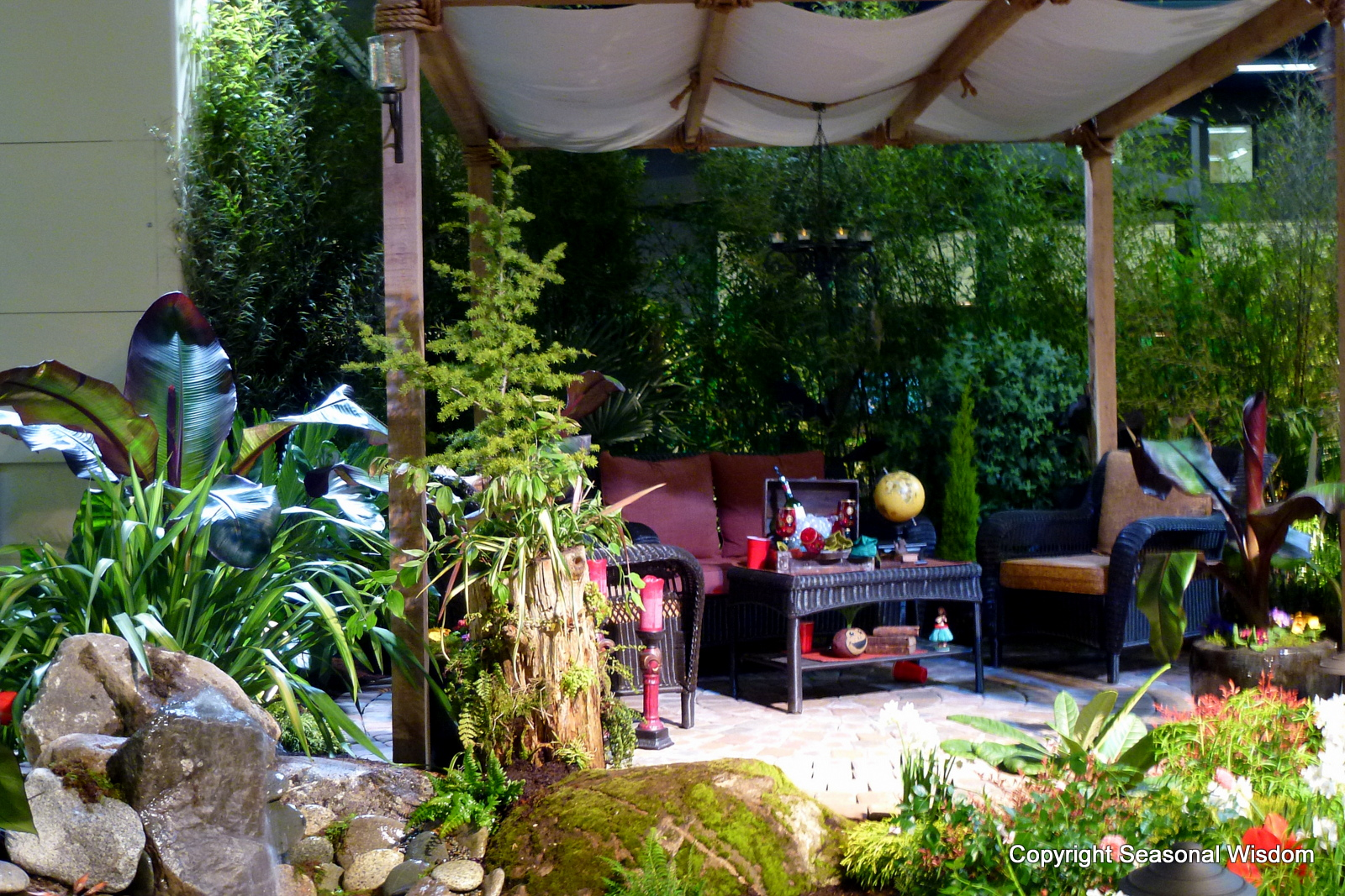 A Garden Hideaway Design for the Entire Family - Seasonal Wisdom