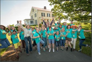 Bloggers from across nation participated in Garden2Blog13 at P. Allen Smith's home.
