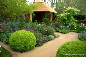 Hobbits would like this house at 2013 Chelsea Flower Show