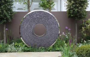 Giant sphere at 2013 Chelsea Flower Show