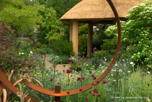 Zen-like garden house at 2013 Chelsea Flower Show