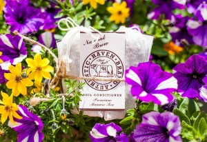 A three-pack of authentic haven brand manure teas is a prize in the mid-summer garden giveaway