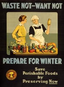 Harvest time poster from WWI