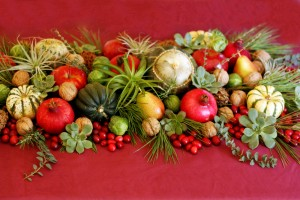 Post image for An Edible Seasonal Tablescape