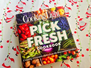 the cooking light pick fresh cookbook makes a great holiday gift.