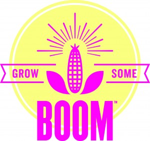 Grow your own popcorn with this Grow Some Boom giveaway