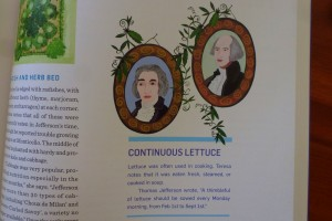 Founding Fathers illustration from Groundbreaking Food Gardens
