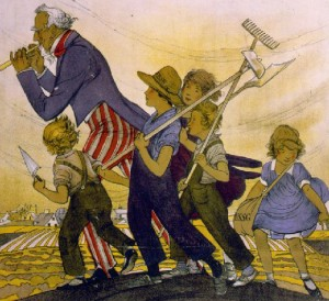 Post image for United States School Garden Army of WW I