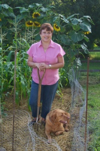 Dee Nash, author of The 20-30 Something Garden Guide
