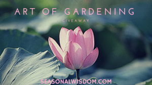 The Art of Gardening Giveaway cover