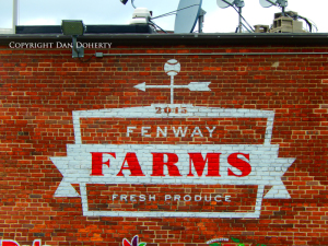 Fenway Farms sign in Boston